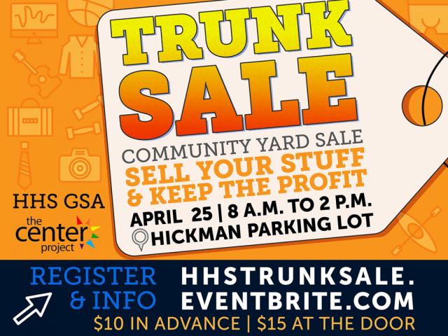 Trunk (Rummage) Sale Flyer